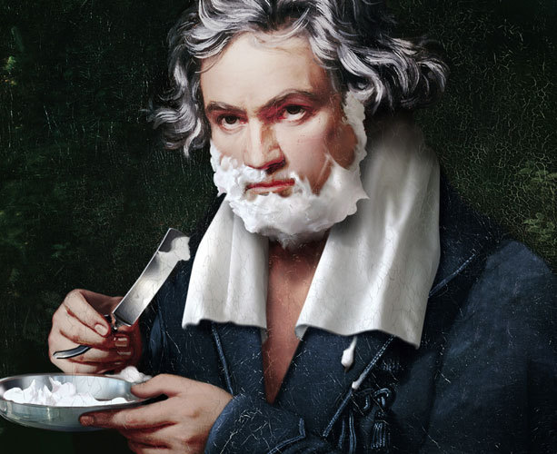 facepalmmozart:  Ludwig is awesome, too :)