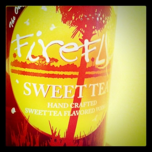 firefly sweet tea vodka (Taken with instagram)
