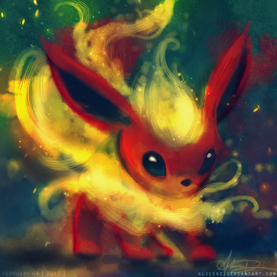 Flareon by =alicexz