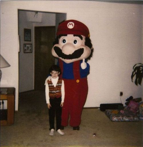 IT'S A ME SEU TRAUMA DE INFANCIA!