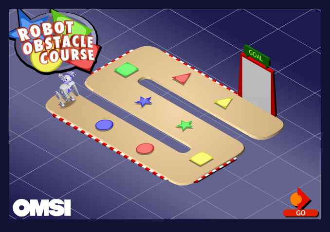 Robot Obstacle Course: Program your robot to make it through the obstacle course. Great activity for thinking skills. #robot #programming #thinkingskills Added to  Brain Games