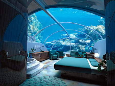 now that's what I call sleeping with the fishes…