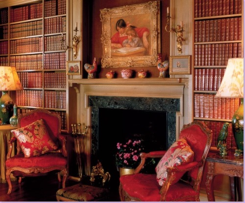 librarianista:  Greta Garbo's home library