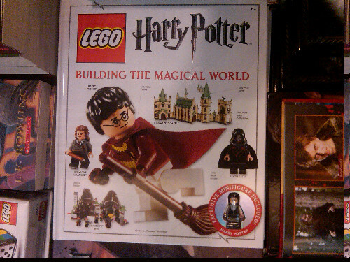 smorgasbordofobsessions:  Lego Harry Potter:Building the Magical World It comes with a cute lego harry!! (That's what the red circle has in it)    Apparently there is a picture of me in this book with the rest of the HP team….. not seen it myself, hope I look ok.  :/