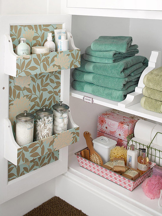 myidealhome:  bathroom storage