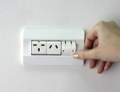 museumofusefulthings:  A handy way to switch between outlets. Saw this here. More ideas here.