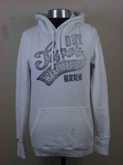 LADIES 100% AUTHENTIC SUPERDRY HOODIESize: S & MColour: WhiteCondition: Brand newLAST ONE OF EACH LEFT!Selling for: $70 > $60 SOLD