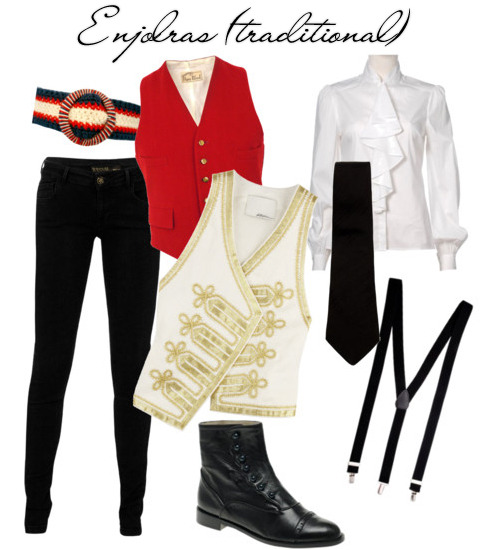 fylesmisfashion:  Enjolras (traditional)  Those vests and that belt. Love me some Enjolras and clothes.