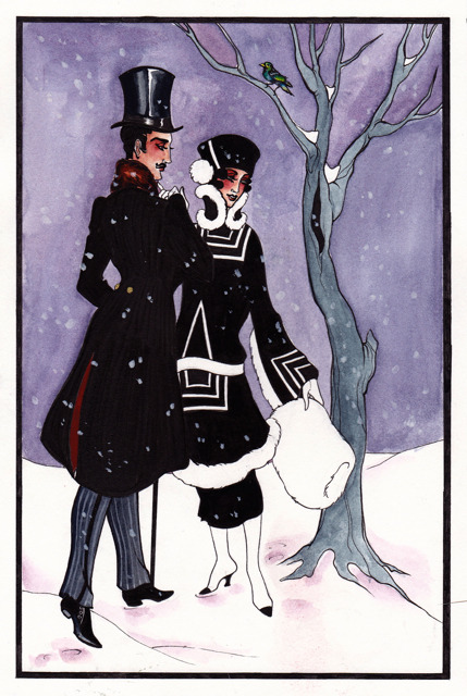 As fun as Jazz Age Lawn Parties are, I still can't wait for winter.