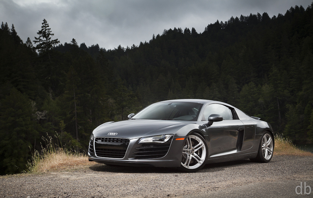 Living on the Edge Audi R8 Photo taken by David Bush in California