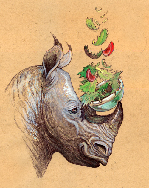 Rhino Salad by ~caramitten