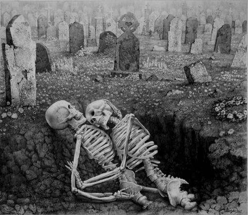 affairemortal:  Last Embrace by Laurie Lipton