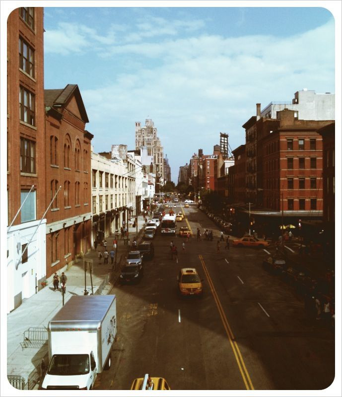 Good views from High Line!!