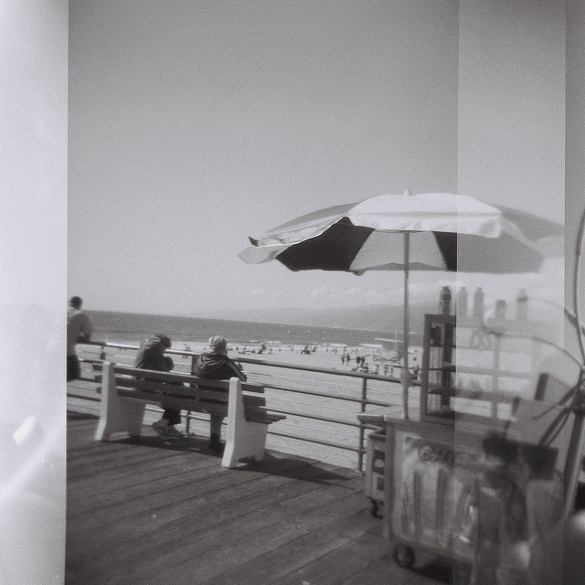 santa monica pier on Flickr.all i wanna do is go back there.