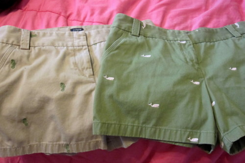 Yayyy just got my two newest additions to my critter shorts collection…can't wait to wear them!! :D