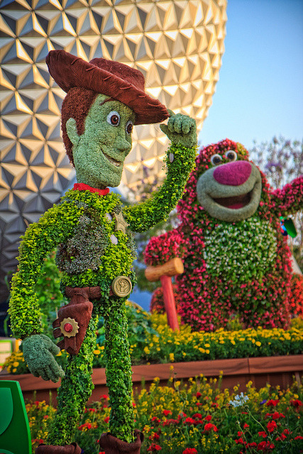 Toy Story Topiaries (2) by Samantha Decker