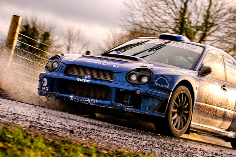 Glory Days Subaru Impreza WRC S8 Photo taken by Stephen Carson in Ireland