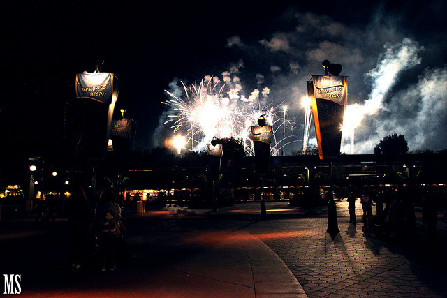 Disney Fireworks by MSiauw_Photography