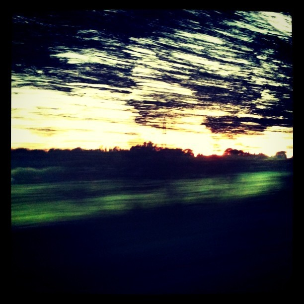 road trippin' home (Taken with instagram)