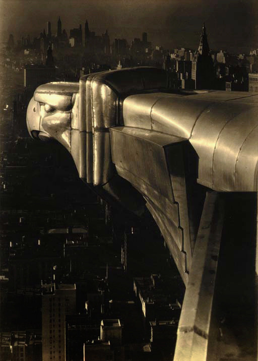 inevitablefragments:  Margaret Bourke-White - Chrysler Building, New York City (1930) silver gelatin photograph