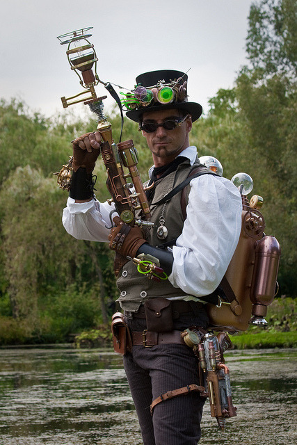 Elf Fantasy Fair Arcen 2010, Steampunker - Martin by Qsimple on Flickr.