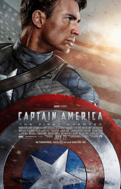 Okay, MARVEL STUDIOS just released this new poster for Captain America: The First Avenger! I did not get to watch both Thor and Green Lantern, pero reviews were actually not that good. I hope this latest movie offering will be grander, and much better than XMEN: First Class (which I believe is one strong XMEN movie in its franchise). Anyway, matagal pa naman ang July 22. :) Ang dami pa kasing sinasabi. LOL