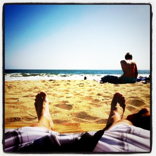 Life is good. (Taken with Instagram at Santa Monica, Pacific Ocean)