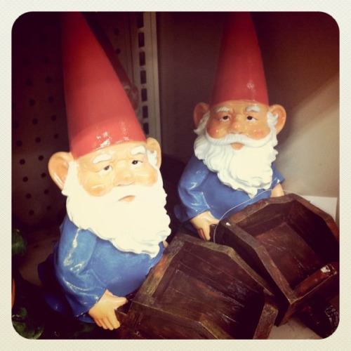 gnomes by ladywave on Flickr.