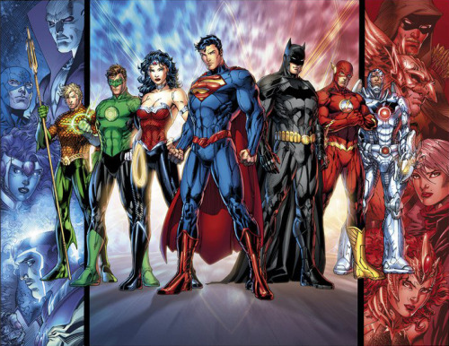 Jim Lee's new Justice League.