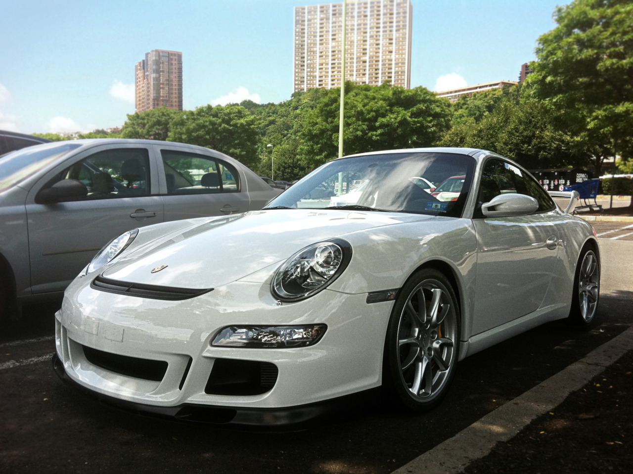 Star Struck Porsche 997 GT3 Photo taken by me with my iPhone in Edgewater, NJ