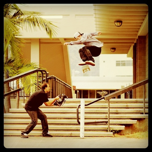 My boy Shane O'Neill killin' it. Switch Flip