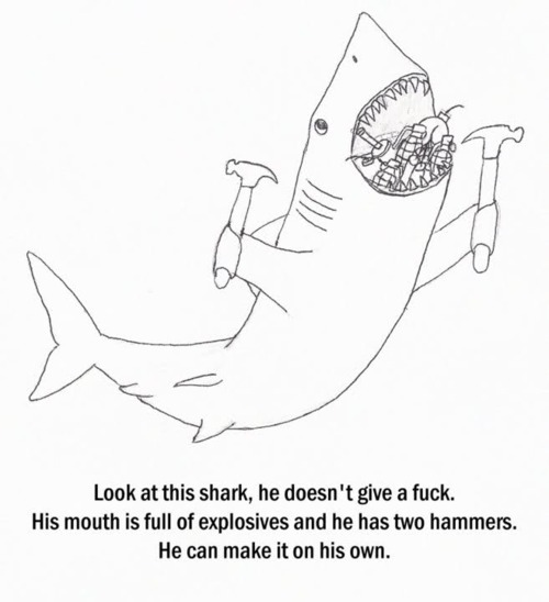 This Shark doesn't give a F***