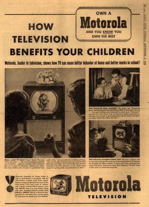 retrospectator:  How television benefits your children.