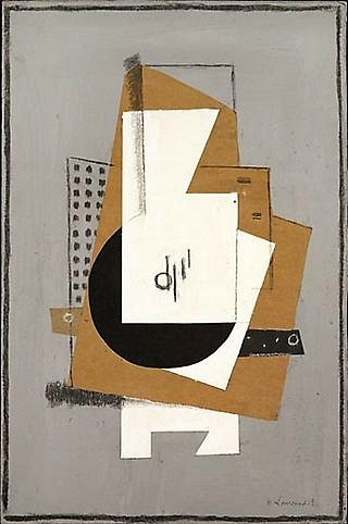 Henri Laurens Cubist Composition 1918