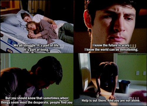 One Tree Hill 8x04 We All Fall Down