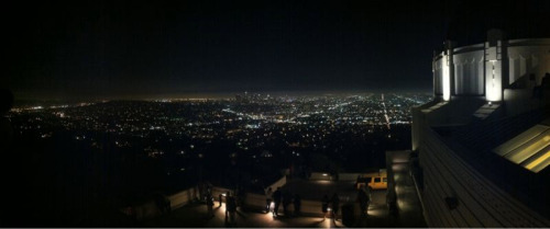 Griffith Park Observatory (at night)