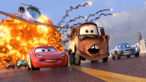 Cars 2 speeds all the way to box office victory Pixar's hot-wheeled sequel Cars 2 revved to the top of the US box office this weekend, grossing an impressive $68m.In a bit of a blow to Pixar's stellar run, the follow-up to the studio's 2006 vehicle only managed to bag fair to middling reviews, even though it beat the first Cars' debut of $60m.However, the sequel was still streets ahead of the nearest competition, with Cameron Diaz's Bad Teacher (a fitting title given the critical reactions it's had) landing in second place with $31m.