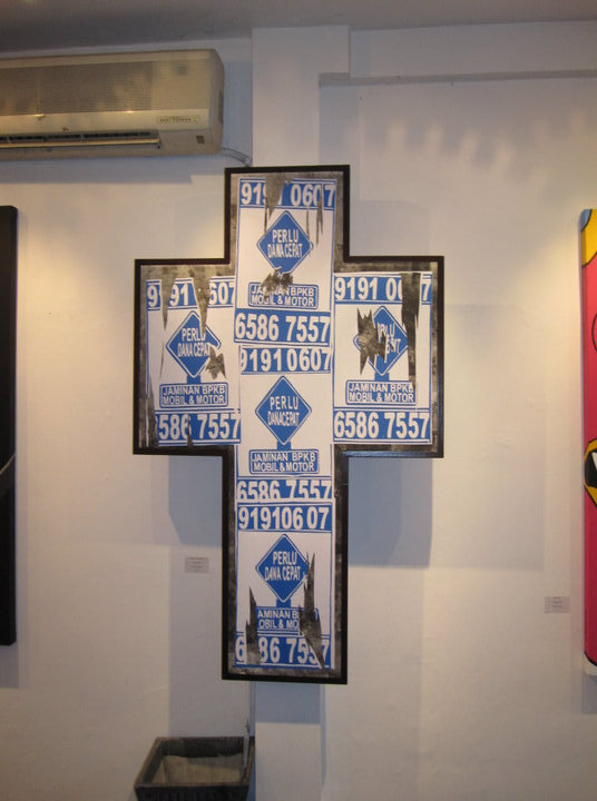 """Crucifixion Financial"" - Mateus Bondan 