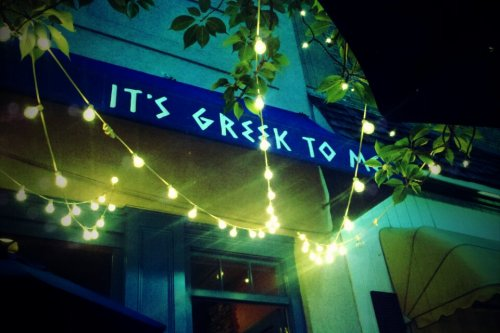 It's Greek to Me. Ridgewood, N.J.