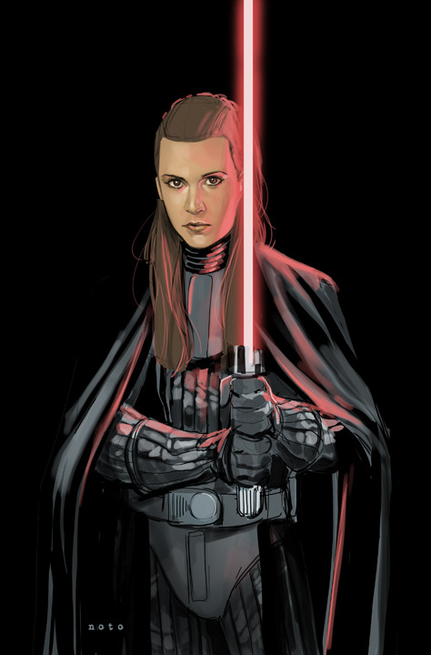 LEIA SKYWALKER - DARK LORD OF THE SITH by Phil Noto