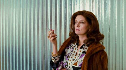 Susan Sarandon in The Lovely Bones  Got bored and just skipped to the scenes she's in. :D