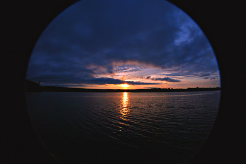 Had a little fun with my fisheye during the sunset as well!