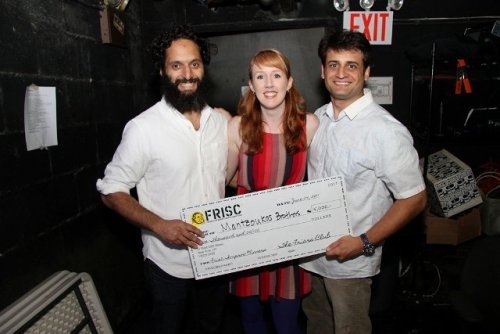 magnettheater:  The Mantzoukas Brothers won the Friars Club Improv Competition this past weekend.  For winning they get $5000 to put towards creating a short comedic film.  Congrats! You can catch them at the Magnet in July.