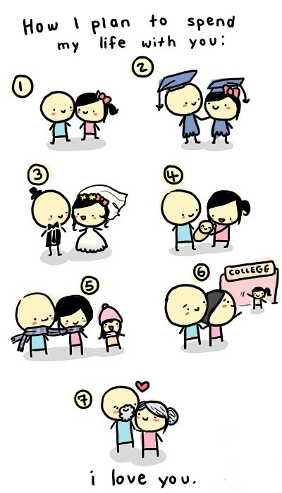 how i plan to spend my life with you..