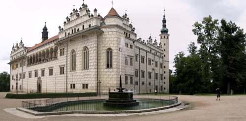 Litomyšl Castle Panorama - Czech Republic