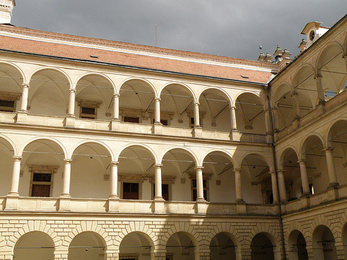 Litomyšl Gallery Arches - Czech Republic