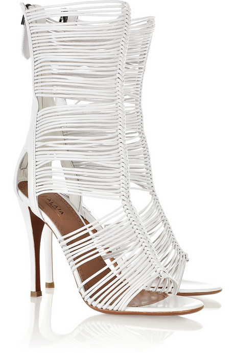 Alaïa Multi-strap leather sandals  $2,195