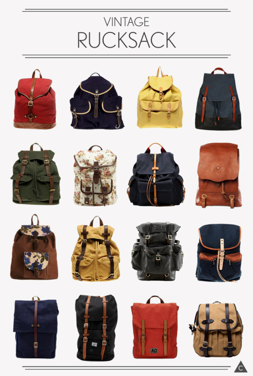 anchordivision:  Vintage Rucksack - Put together by Cruzch