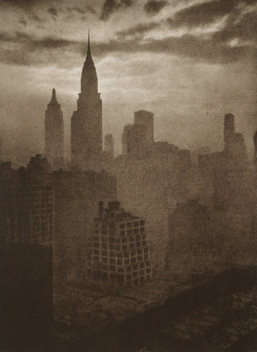 Adolf Fassbender | At Dusk | Photogravure Gallery via kihachi