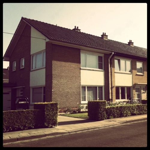 BEST. BLOG. EVER. PERIOD. uglybelgianhouses:  Suburbs & suburbs filled with these monsters. Welcome to Belgium